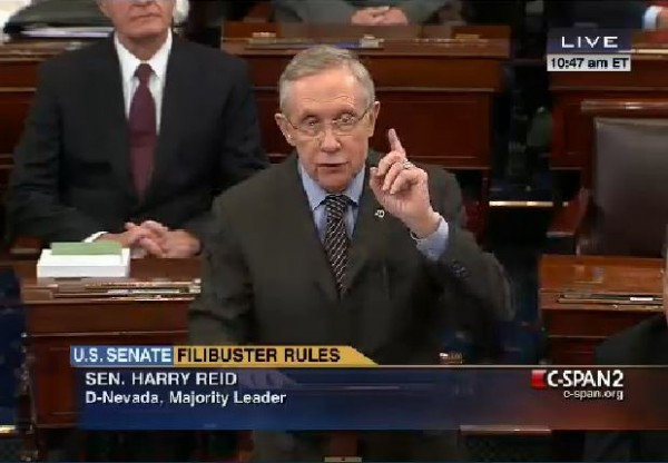 Harry Reid Nuclear Option Floor Debate 2
