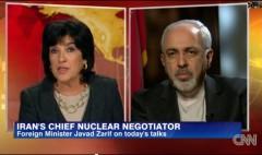 Iranian Foreign Minister Javad Zarif CNN Christiane Amanpour