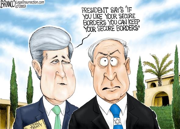 Kerry  and Netanyahu Israel
