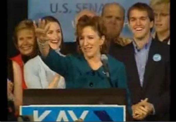 Kay Hagan victory speech