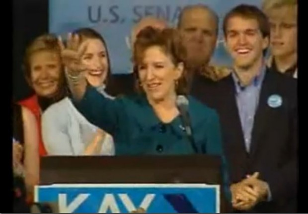 Kay Hagan victory speech