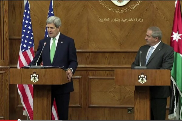 Kerry Talks Israel Palestinian