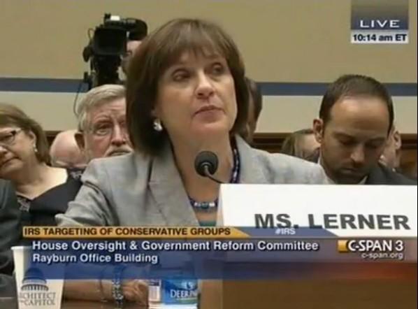 Lois Lerner House Testimony