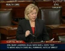 Mary Landrieu Vote Yes Obamacare