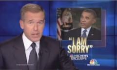 NBC Obama Sorry