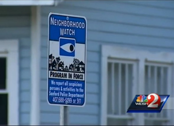 Sanford FL Neighborhood Watch sign