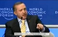 Turkish PM Erdogan at Davos 2009