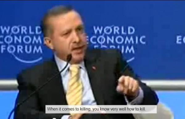 Turkish PM Erdogan at Davos 2009