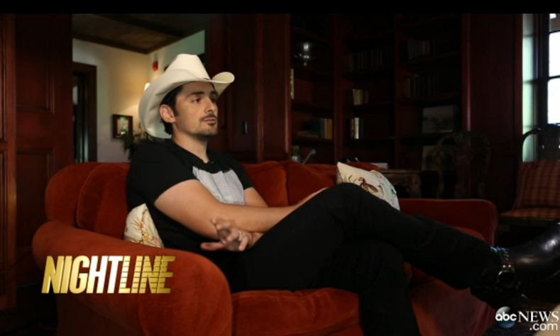 Hoax dying daughter celebrities brad paisley for How many kids does brad paisley have