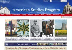 American Studies Penn State Harrisburg Banner