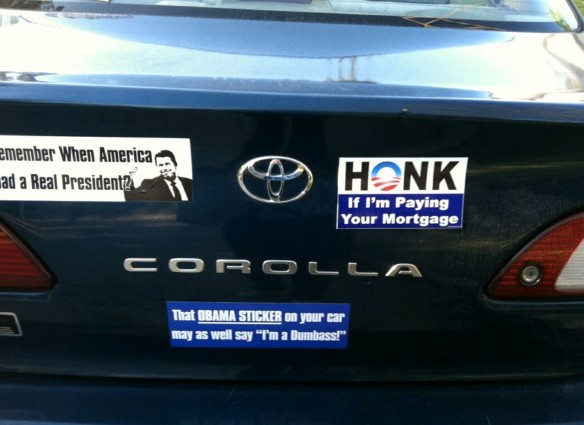 Bumper Sticker - Kingwood TX - Honk
