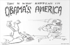 Cartoon This is What Happens In Obama's America