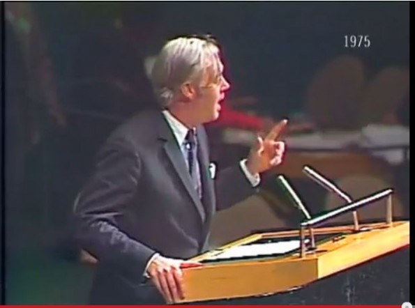 Daniel Patrick Moynihan Speech UN Zionism is not Racism