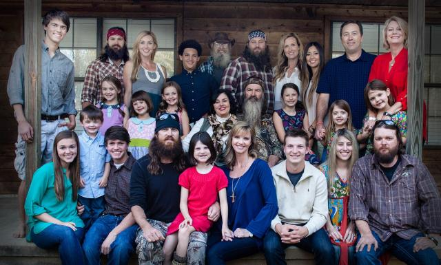 Duck Dynasty Robertson full family