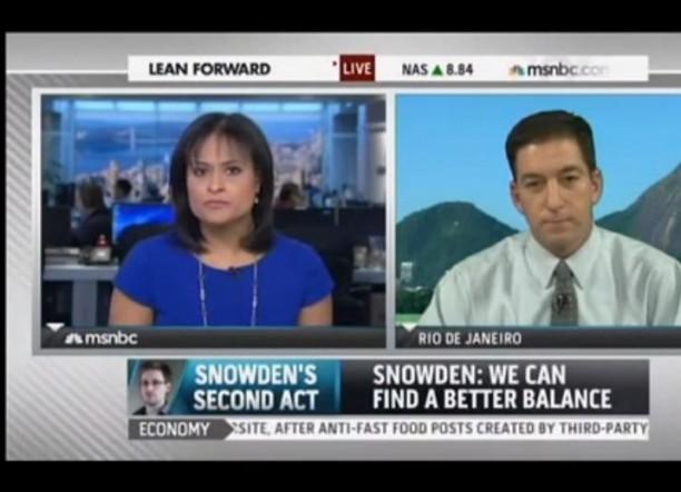 Glenn Greenwald MSNBC Snowden