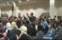 Israeli Amb Michael Oren shouted down at UC Irvine 2010