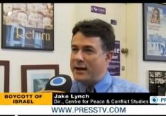 Jake Lynch Australia BDS Press TV