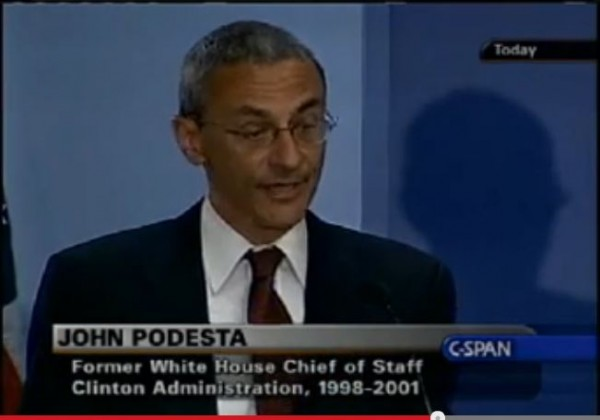 John Podesta 2005 nuclear option senate