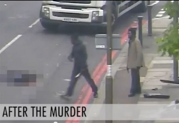 Lee Rigby killers after the murder