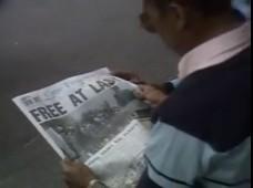Mandela Release BBC Free At Last