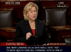 Mary Landrieu 2009 Vote for Obamacare