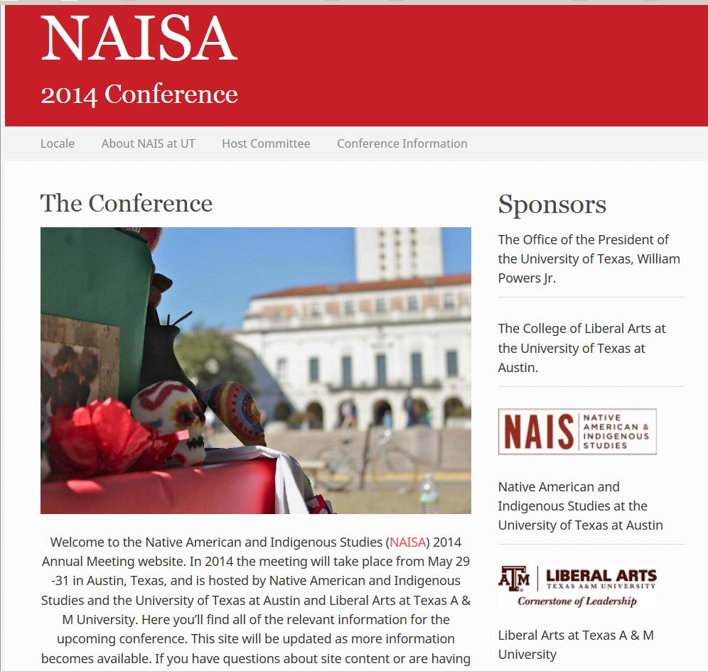 NAIS 2014 Conference Sponsors