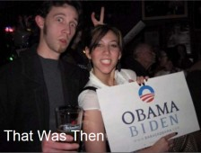 Obama Supporters 2008 - That That Was Then