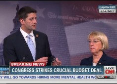 Paul Ryan Patty Murray announce budget deal 12-10-2013
