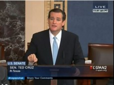 Ted Cruz Obamacare Filibuster