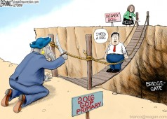 Bridgegate cartoon