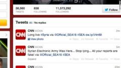 CNN Twitter Acct hacked