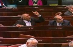 Canadian PM Harper Knesset heckled