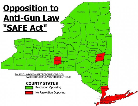 County Opposition to SAFE Act ao January 2014