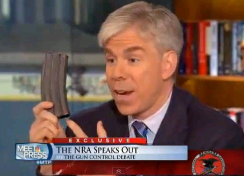 David Gregory NRA Interview 1