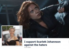 Facebook Page - I Support Scarlett Johannson against the haters