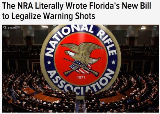 Gawker NRA Florida Warning Shot