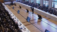 Geneva Syria Peace Talks 1-22-2014