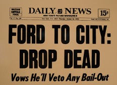 Headline Ford to City Drop Dead
