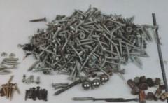 Israel Bus Pressure Cooker Bomb Nails