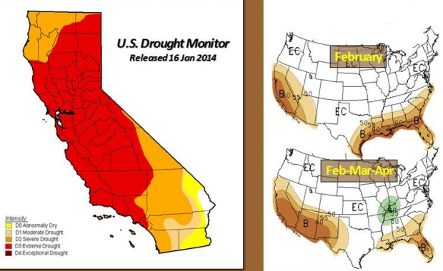LI #26 California Drought Map