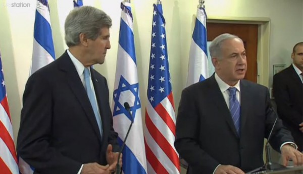 Netanyahu Kerry Press Statement 1-2-2014