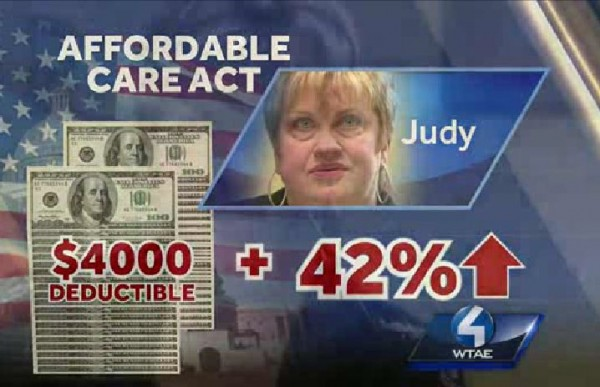 Obamacare Judy Pennsylvania company price increase