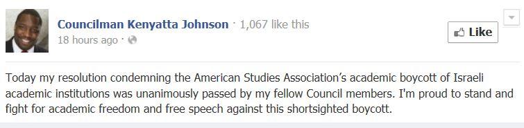 https://www.facebook.com/CouncilmanKenyattaJohnson#!/CouncilmanKenyattaJohnson/posts/574424249299048?stream_ref=10