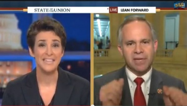 Rachel Maddow Tim Huelskamp Cheerleader Amazing
