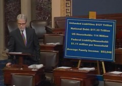Tom Coburn Senate Floor National Debt