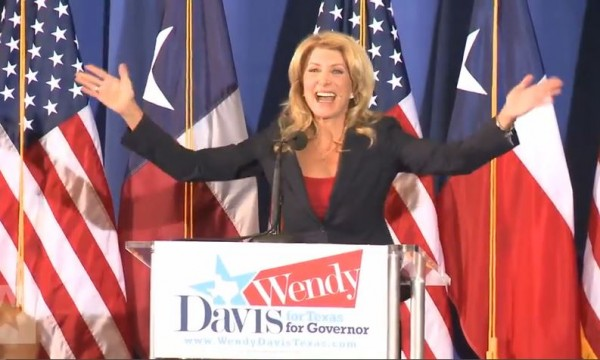 Wendy Davis Announcement Speech 2