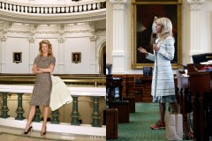 source: http://nymag.com/thecut/2013/08/wendy-davis-wore-high-heels-in-vogue.html