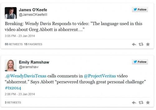 Wendy Davis re Abbott Battleground Texas comments