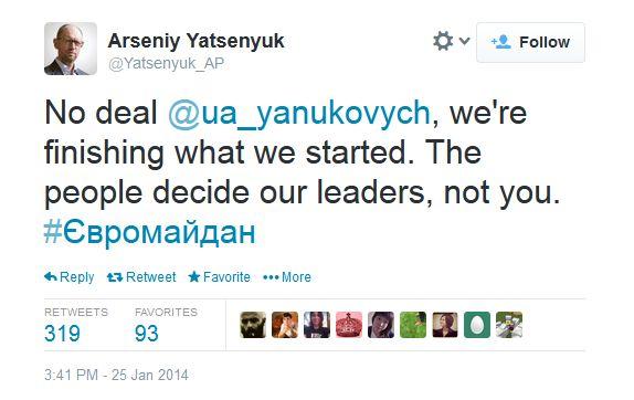 ukraine-Yatseniuk