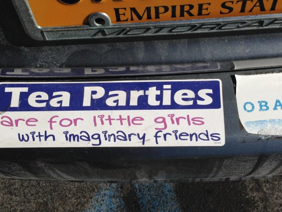 Bumper Sticker - Ithaca - Tea Parties for Little Girls